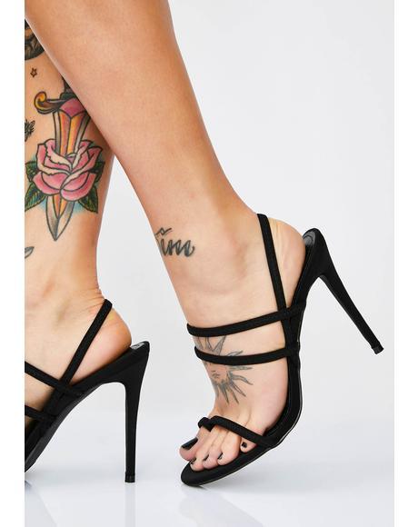 Damn Gina Strappy Heels
