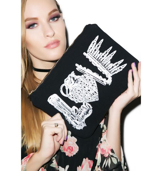 Lauren Moshi Love Kills iPad Clutch