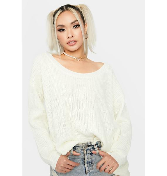 It's Bliss Oversized Knit Sweater