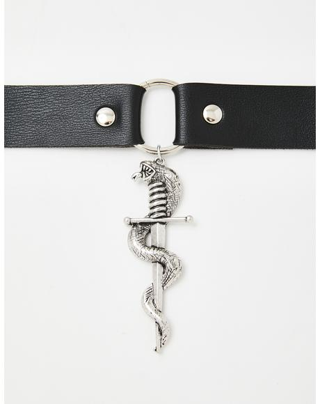Back Stabber O-Ring Choker