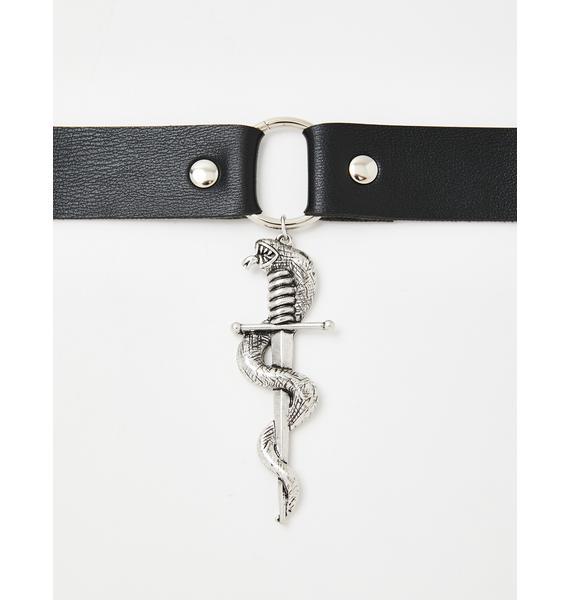 Back Stabber O-Ring Choker