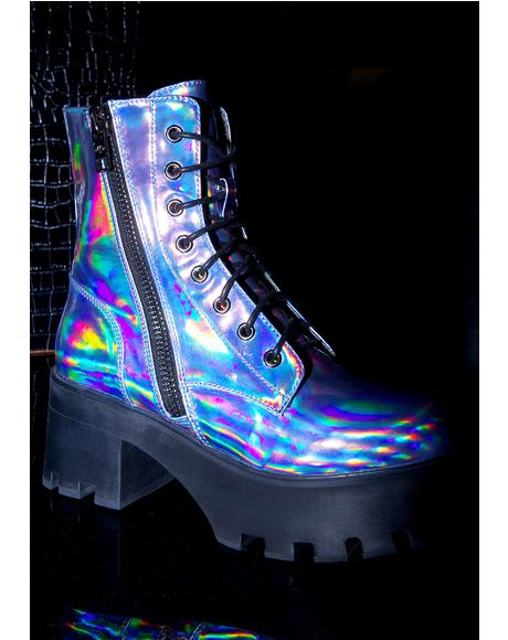 Opalescent Odyssey Boots