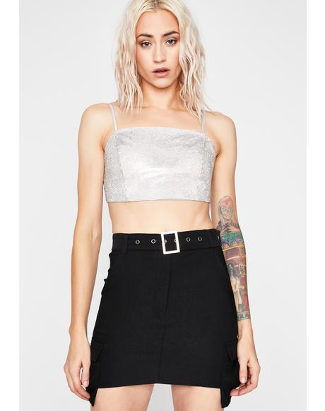 Night Prepare For Trouble Cargo Skirt