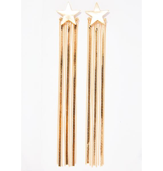 Shootin' Stars Fringe Earrings