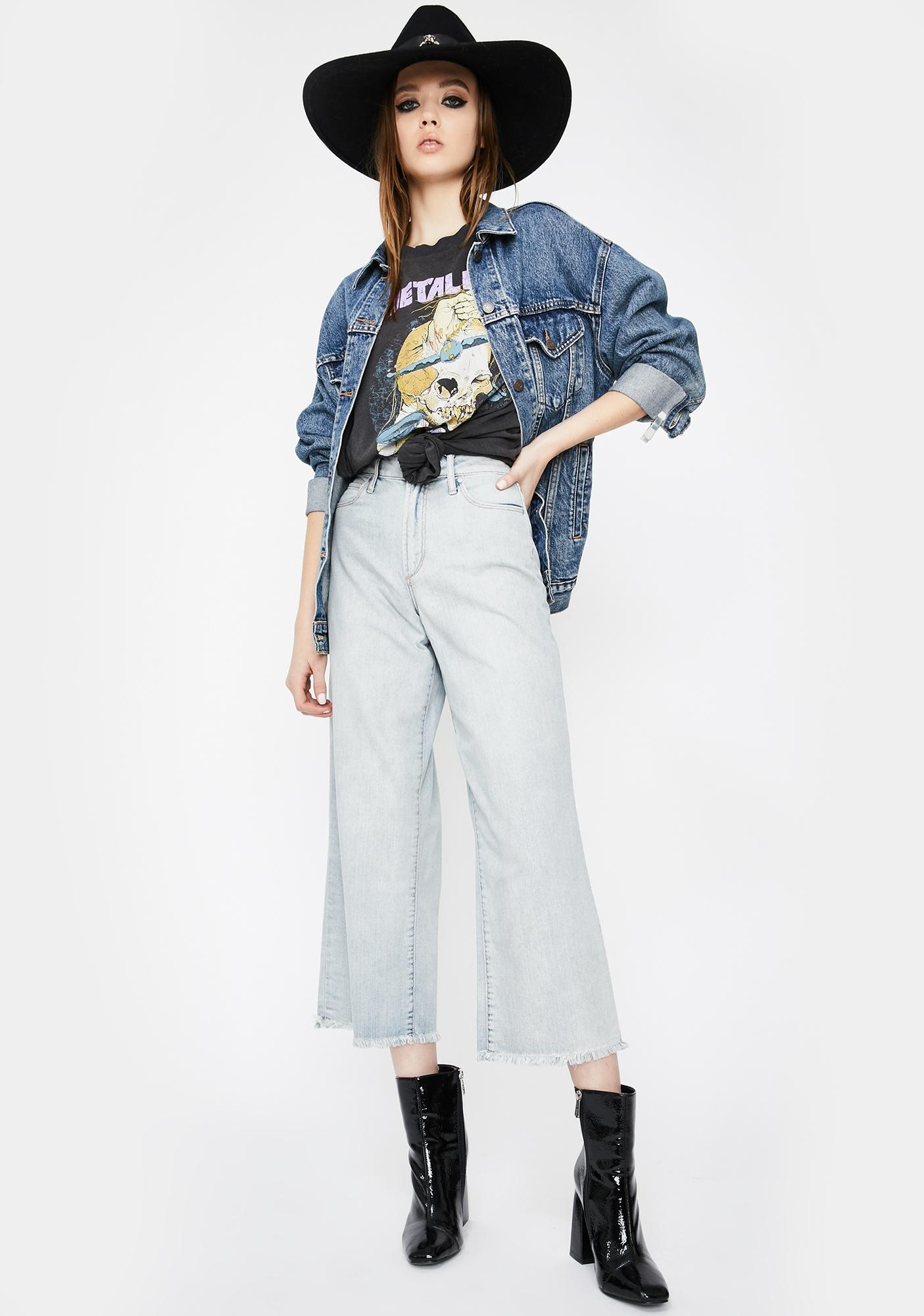 Articles of Society Knoll Lyla Wide Leg Jeans