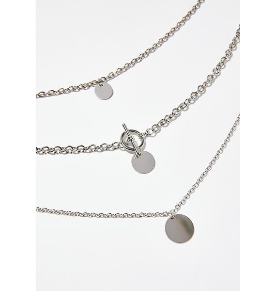 Bish I'm Lit Layered Necklace