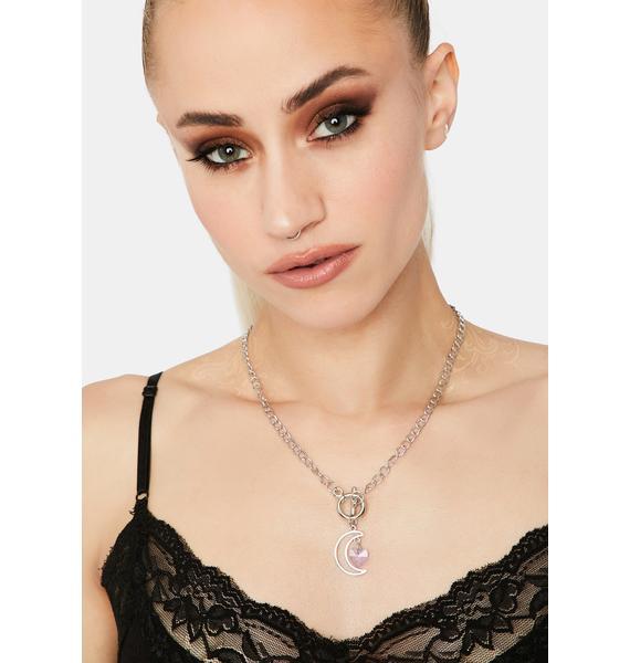 Soft Glow Charm Necklace