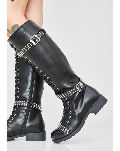 Dare Me Combat Boots