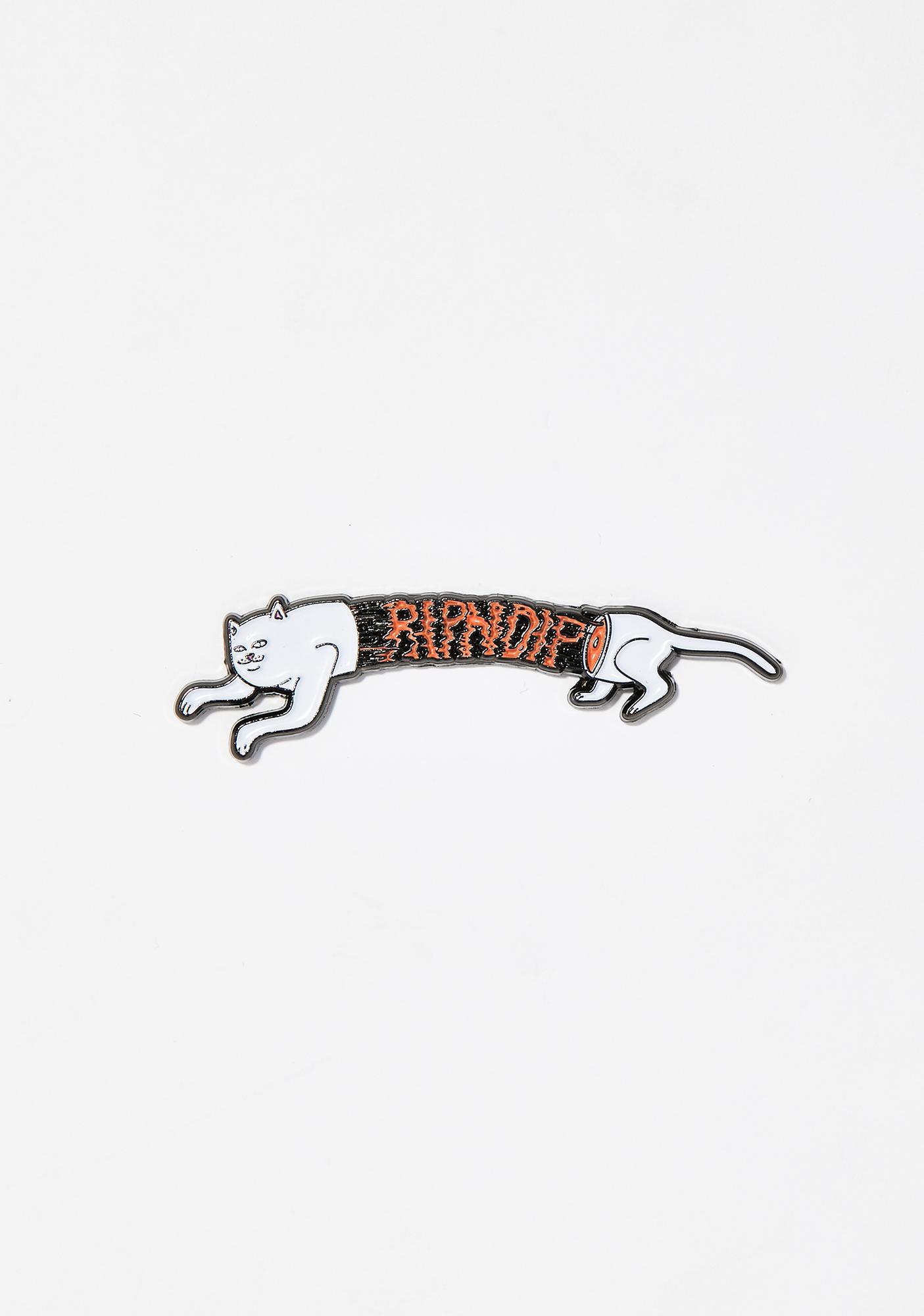 RIPNDIP Zipper Face Pin