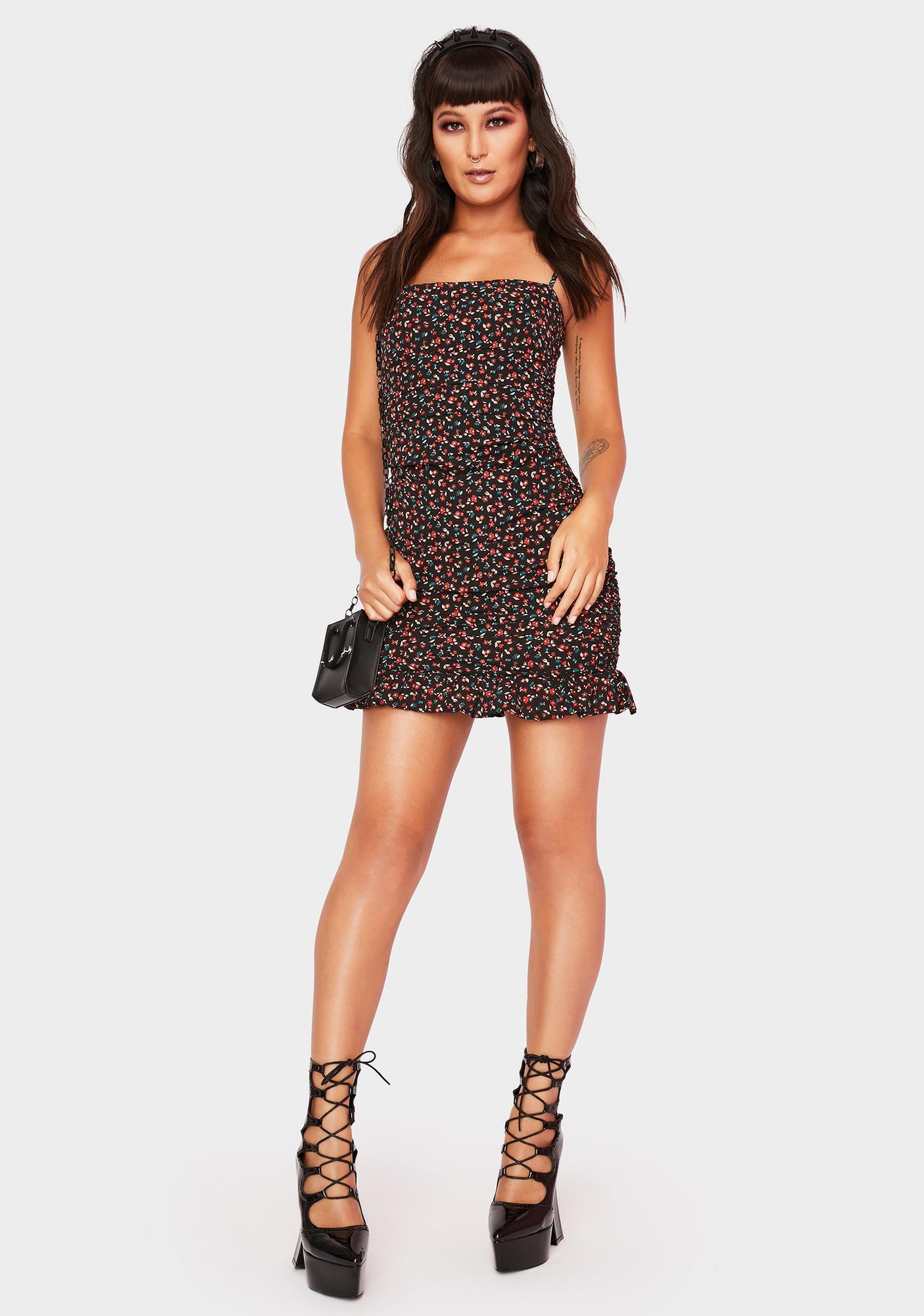 Pick Of The Bunch Mini Dress