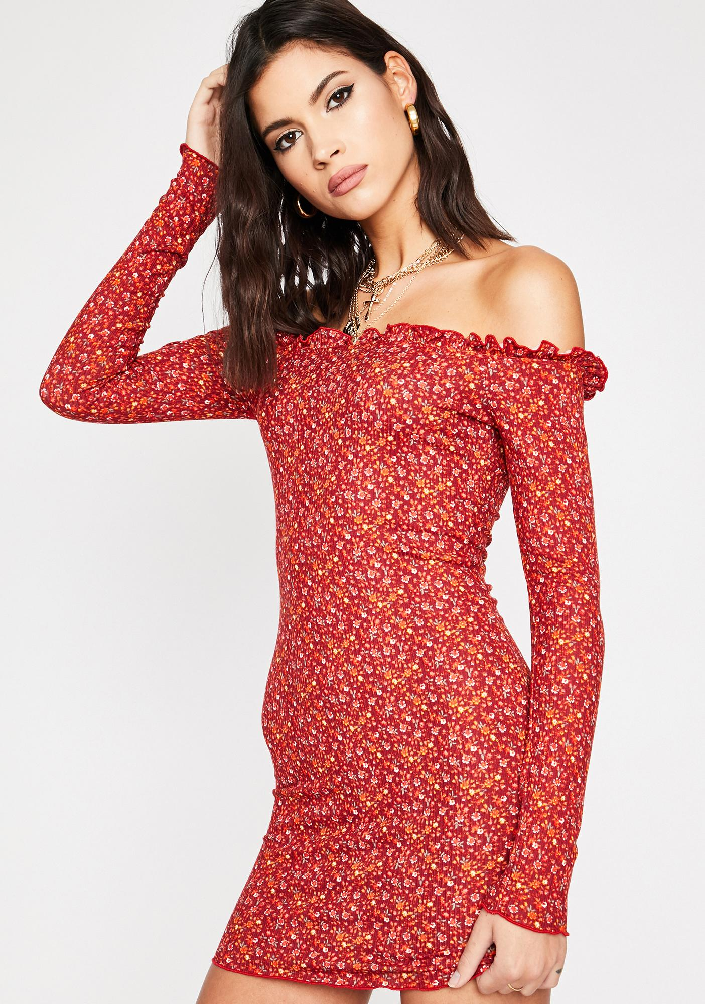 Fields Of Passion Floral Dress