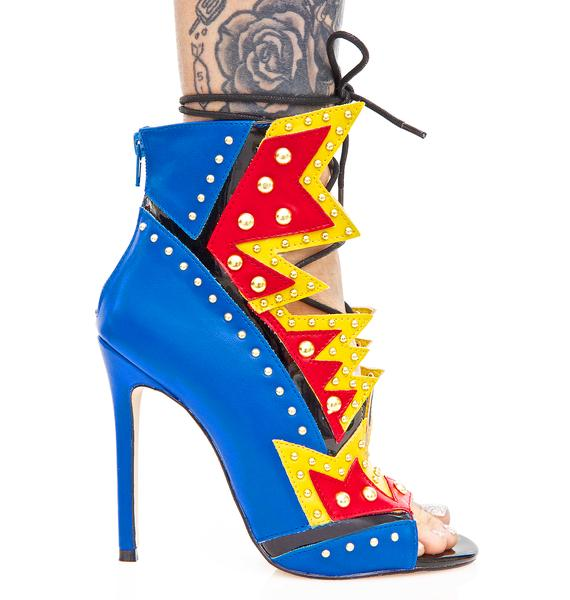 Privileged Wham Cut-Out Heels