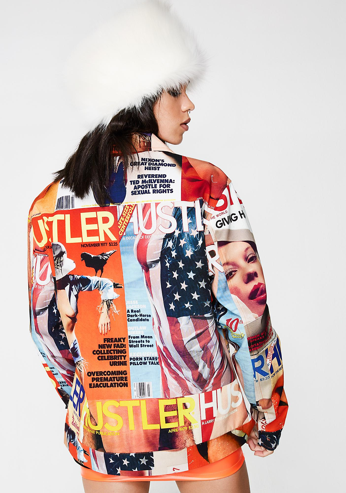 40s & Shorties x Hustler Magazine Work Jacket