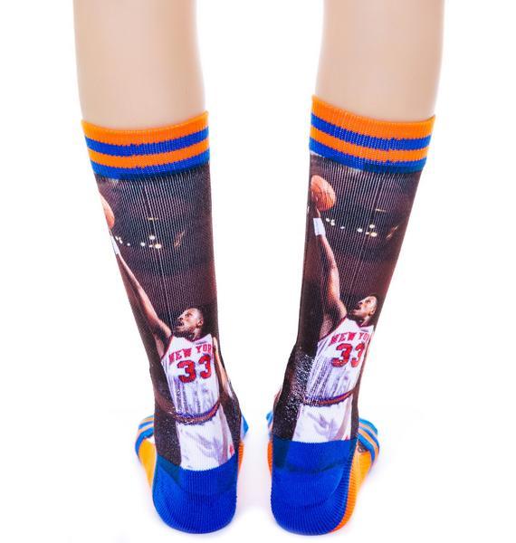 Stance Patrick Ewing Knicks Socks