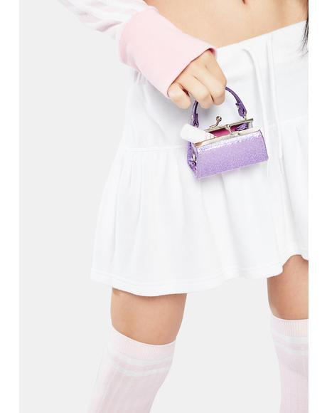 Lilac Holographic Mini Purse