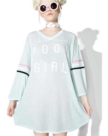 Pool Girl Jersey Tunic