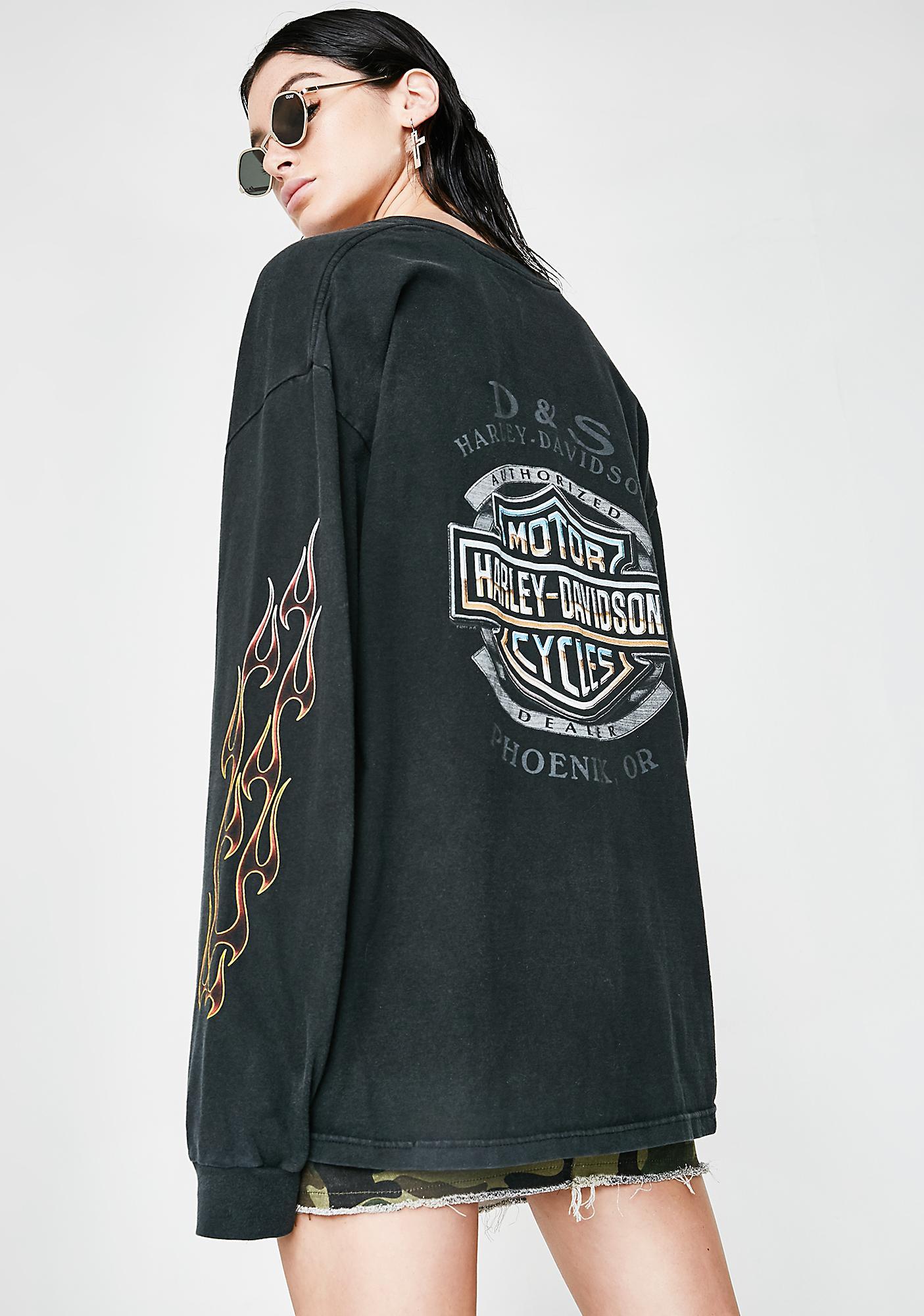 Vintage Harley Davidson Phoenix Long Sleeve Tee