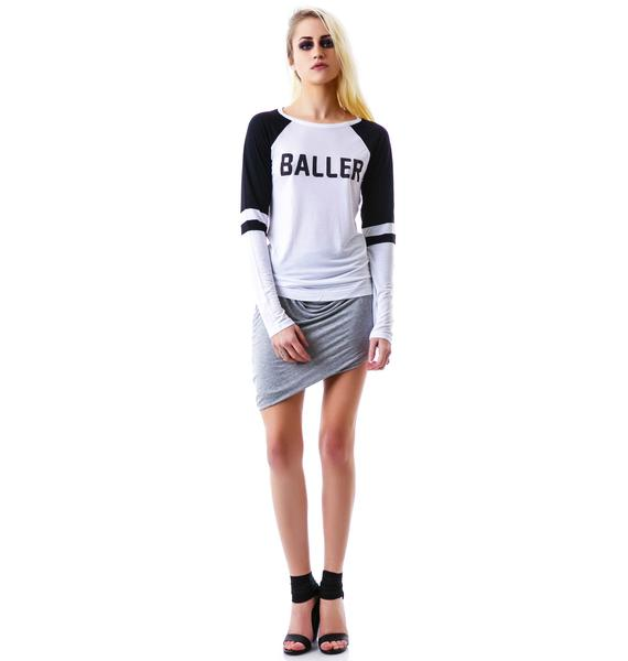 Stylestalker Baller Long Sleeved Raglan