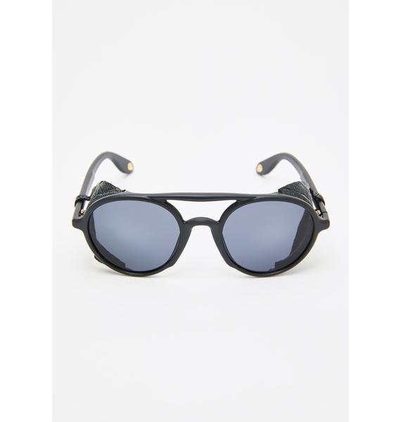 Replay Vintage Sunglasses Evil Gargoyle Round Sunglasses