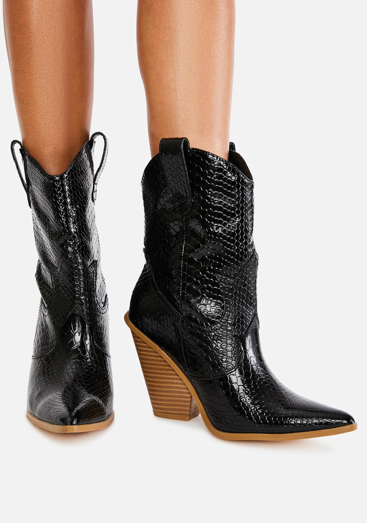 Walk My Way Cowboy Boots