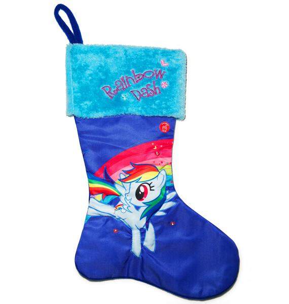 Rainbow Dash LED Stocking