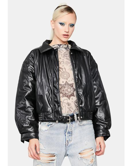 Night Oldie But Goodie Bomber Jacket