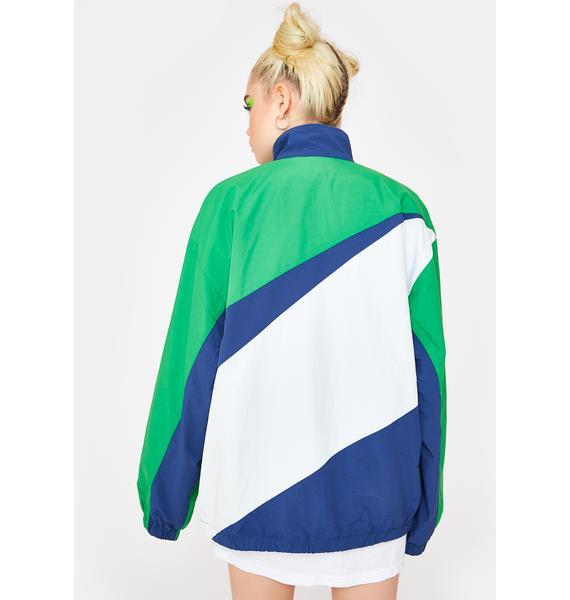 XLARGE Slash Paneled Nylon Jacket