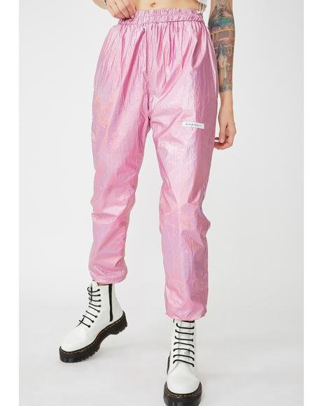 Candy Metallic Sweatpants