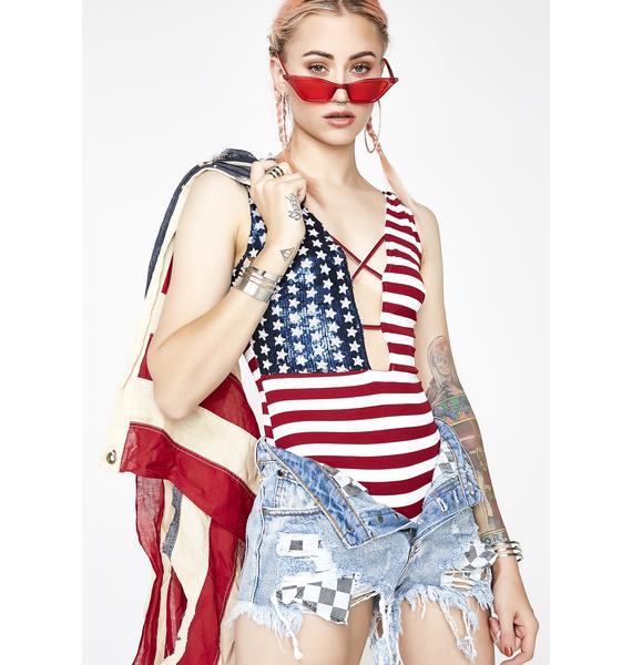 Flag It Up Bodysuit