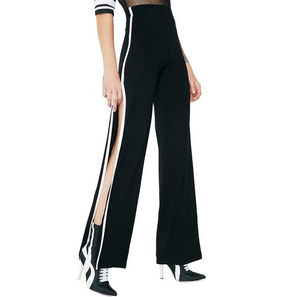 Walk With Me Split Leg Pants