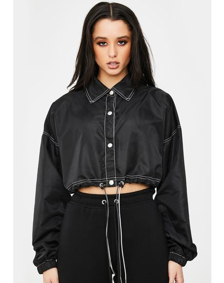 Signed A Contract Crop Jacket
