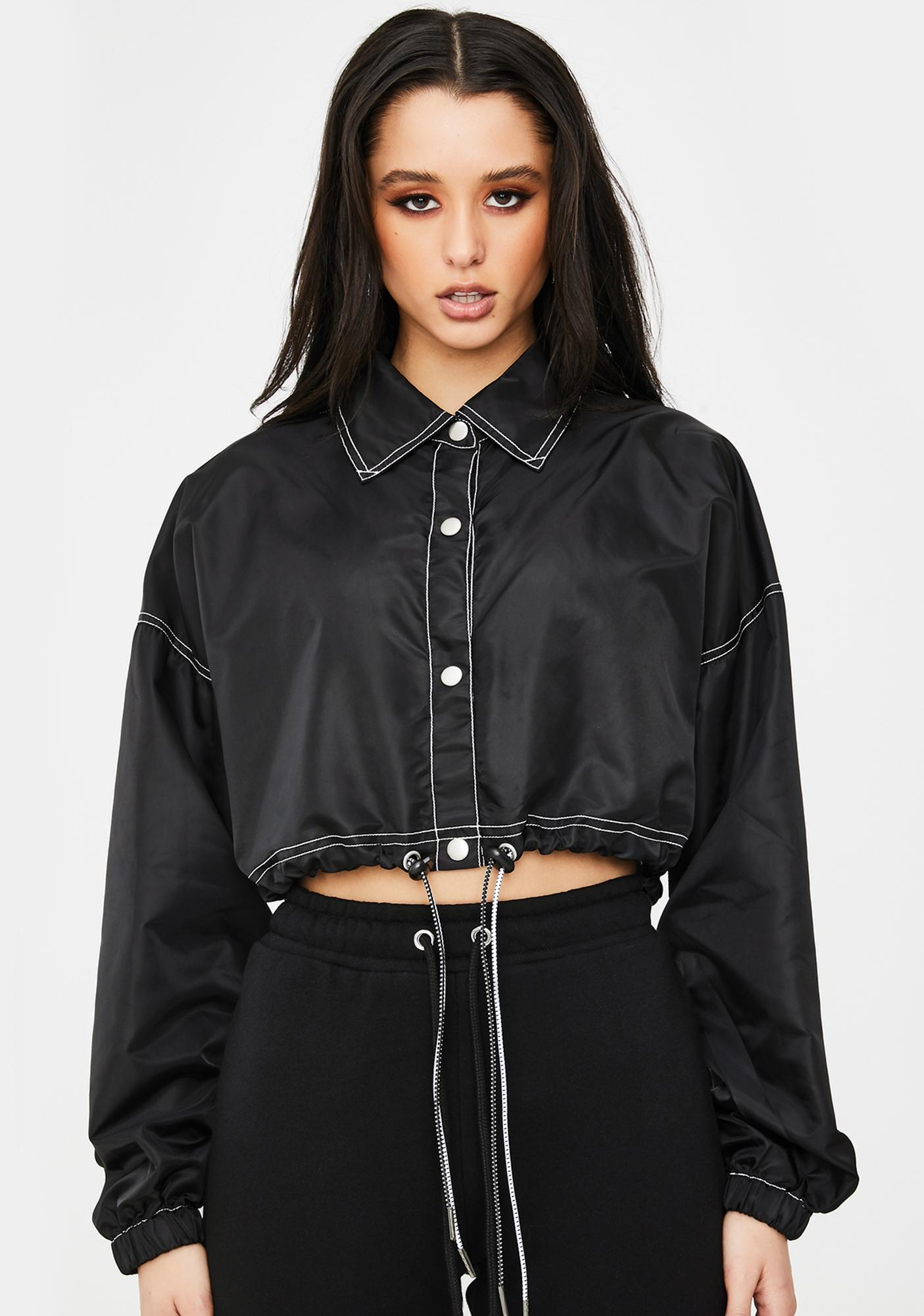 Poster Grl Signed A Contract Crop Jacket