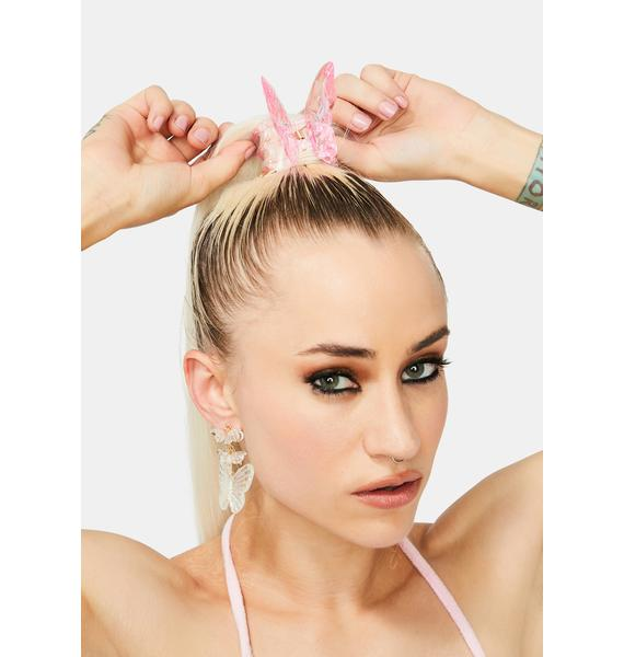 Hover Above Butterfly Hair Clip