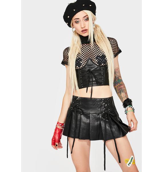 Current Mood It's My Life Mini Skirt
