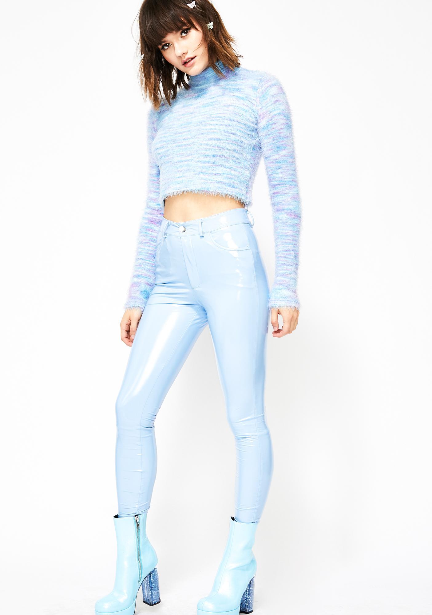 Sky Legally Flawless Vinyl Pants
