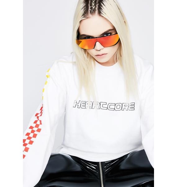 Rad and Refined Sunset Terminator Sunglasses