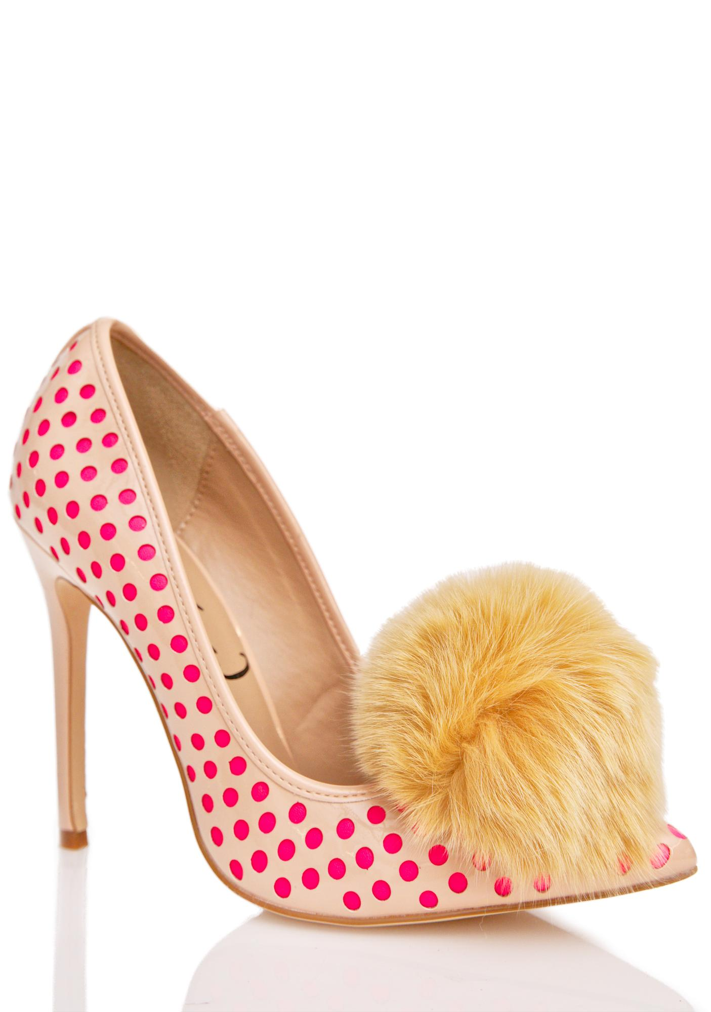 Privileged Nude Dulce Pom Heels
