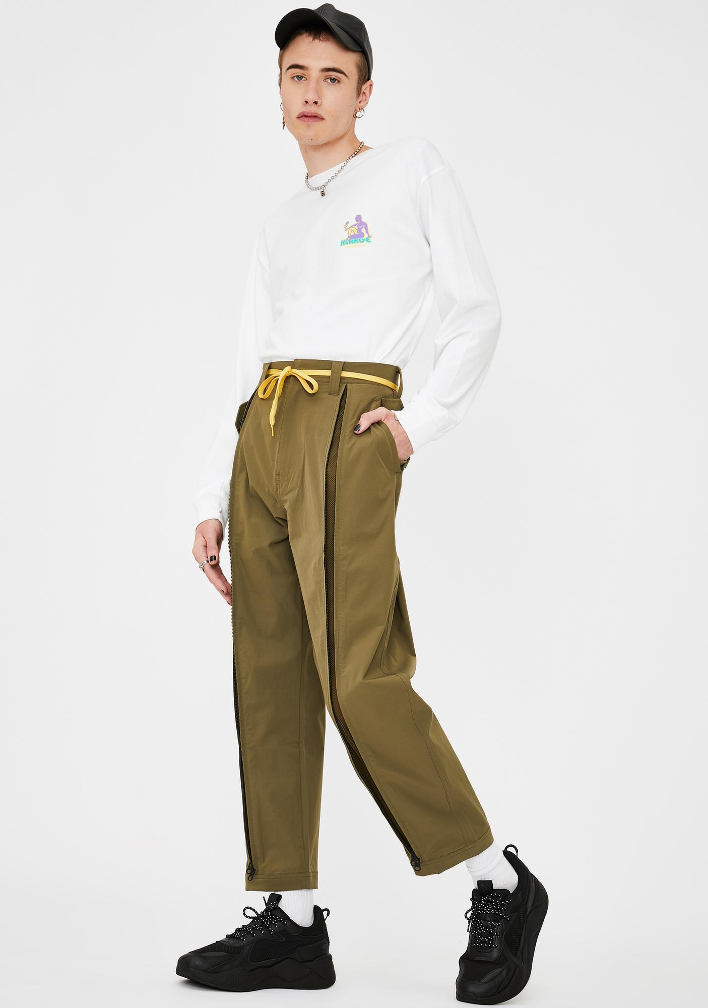 XLARGE Zipped Mil Pants
