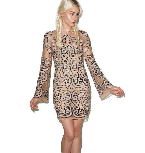 For Love & Lemons Antonina Mini Dress