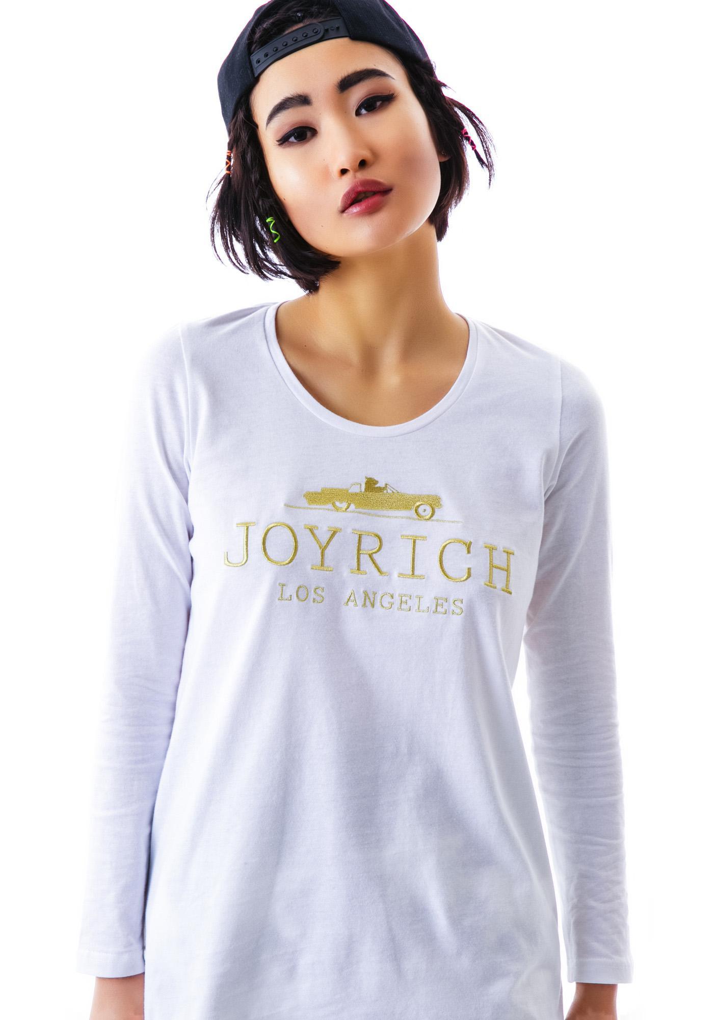 Joyrich Logo Embroidered Long Sleeve