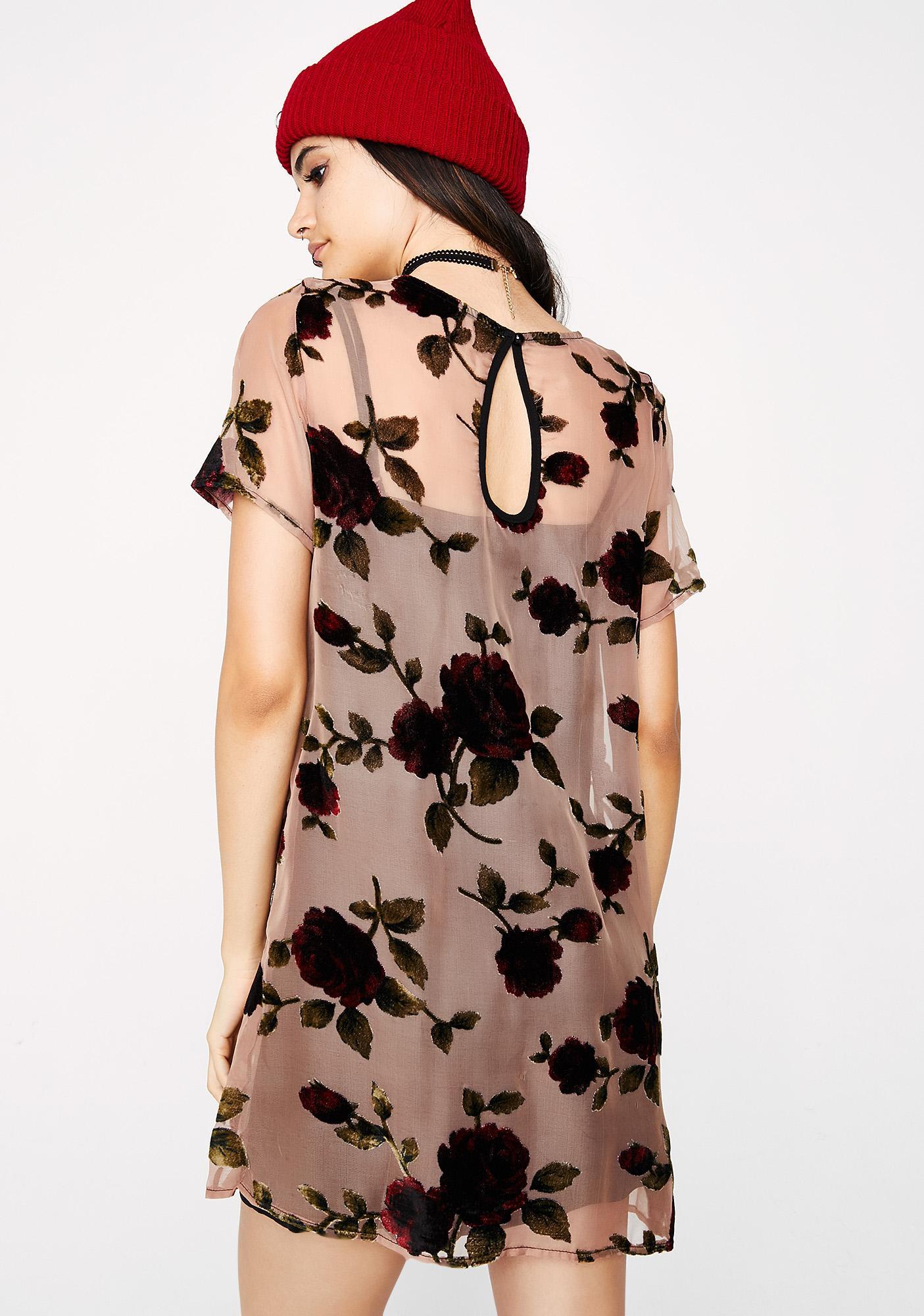 Bloomin' Roses Dress