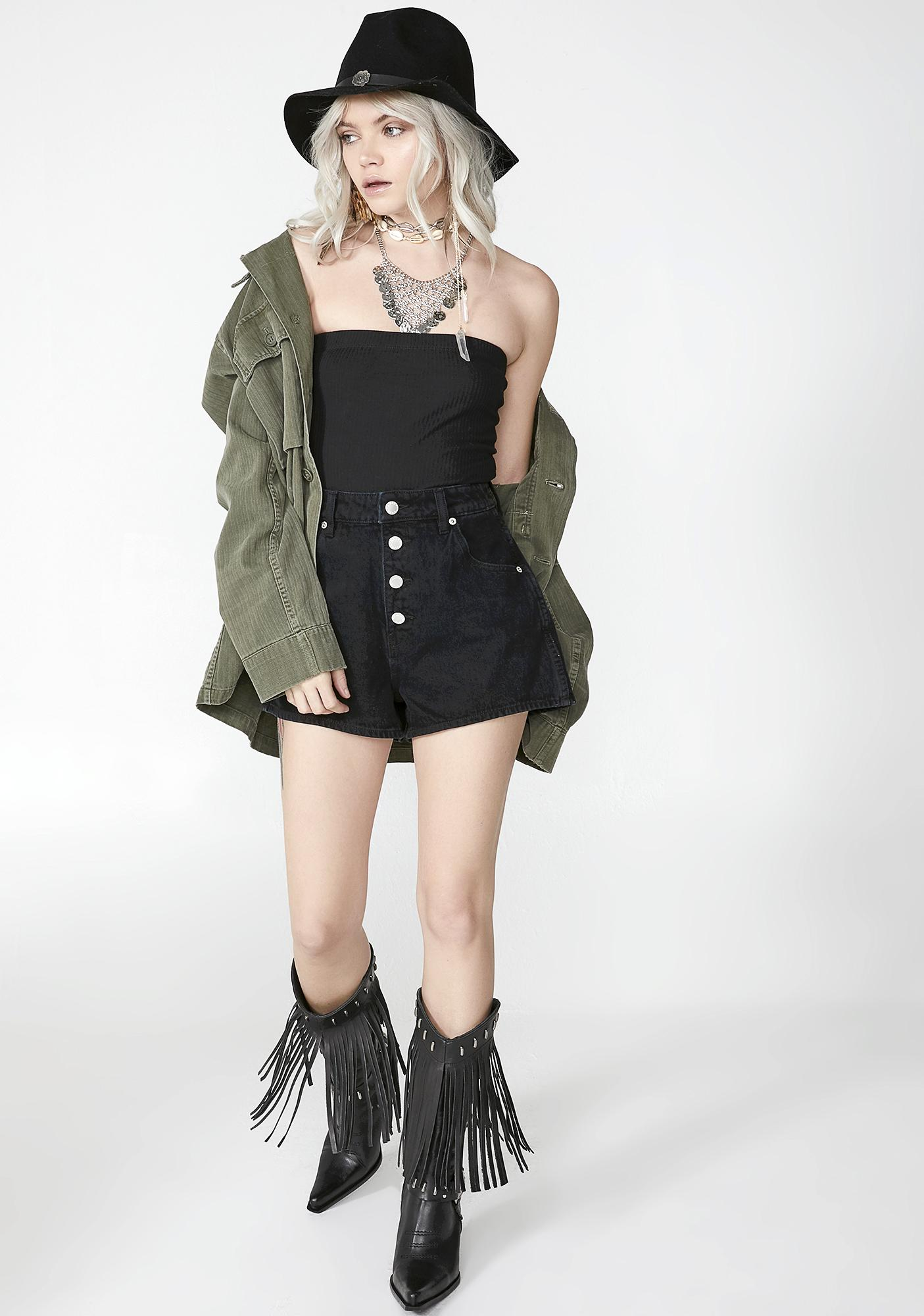 Bad Habitz Strapless Bodysuit