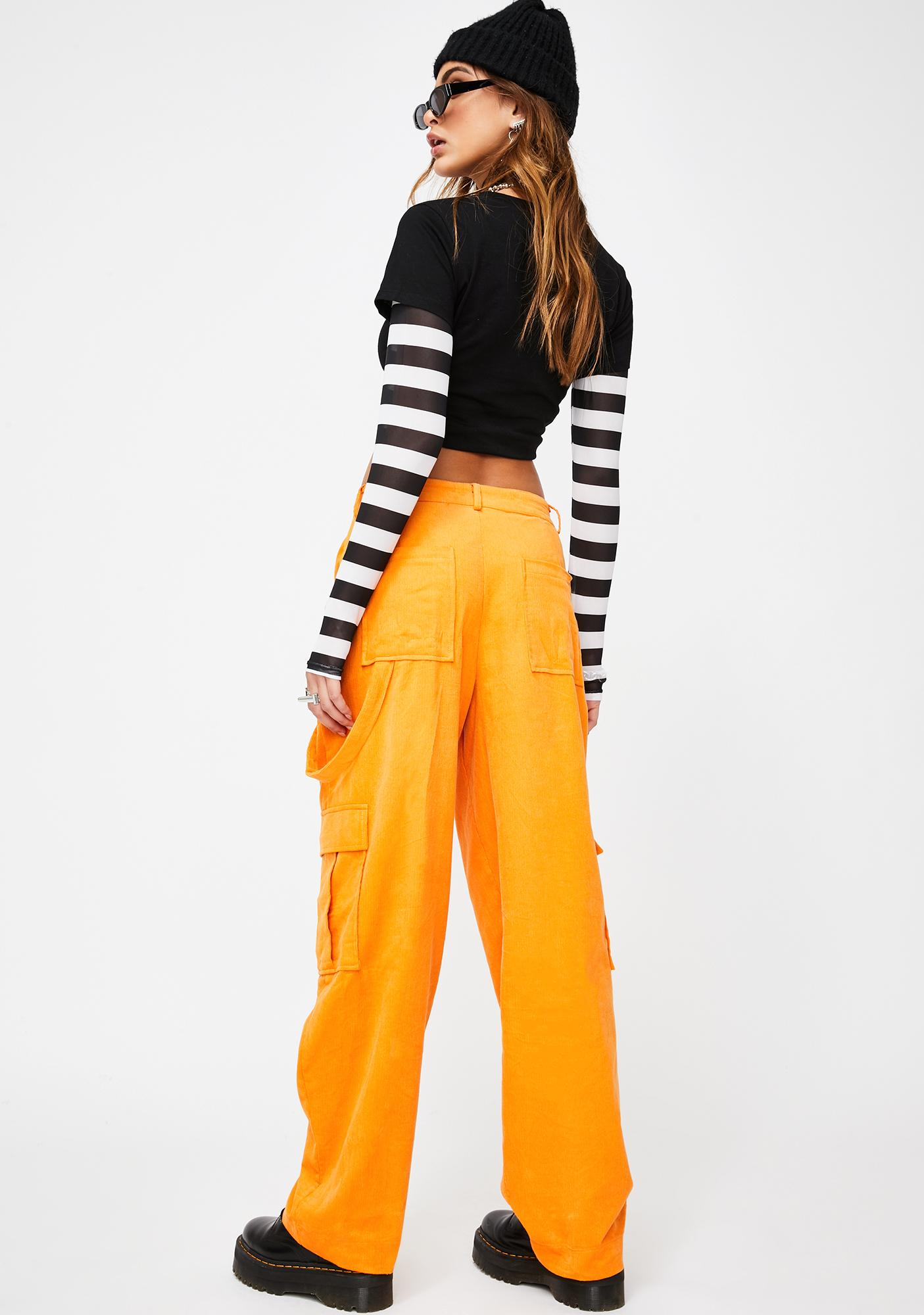 The Ragged Priest Flame Corduroy Pants