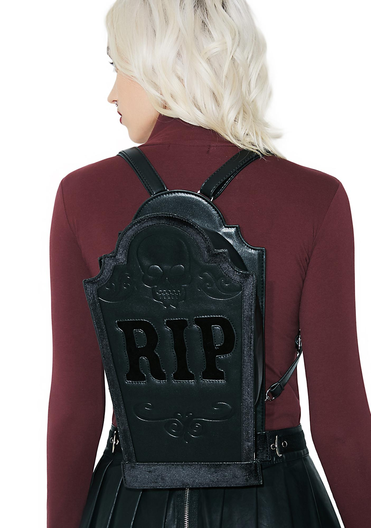 Current Mood Tombstone Bag