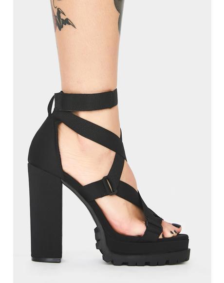 Wanna Go Platform Heels