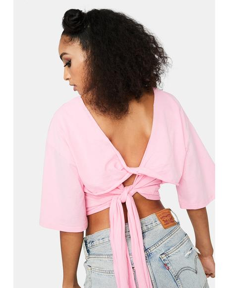 Keep It Together Tie Crop Top