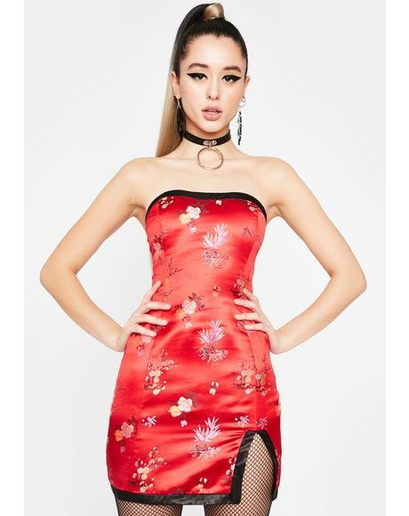 Siren Charm City Brocade Dress