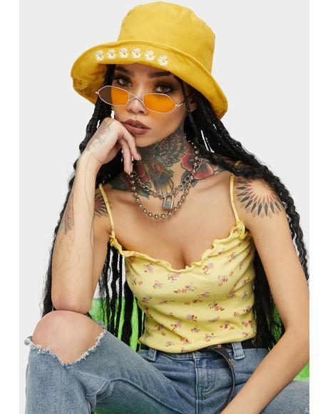 Sunny Blossom Breeze Bucket Hat