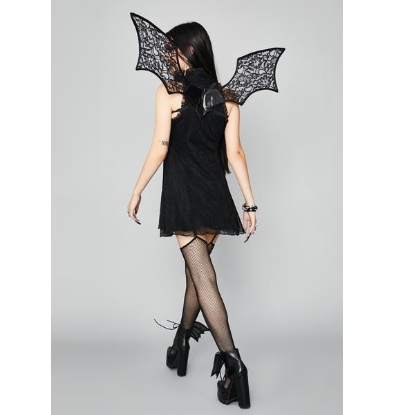 Bat To The Bone Lace Wings