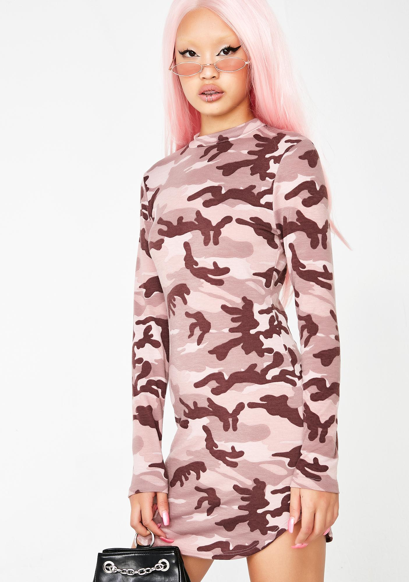Breezy Camo Dress